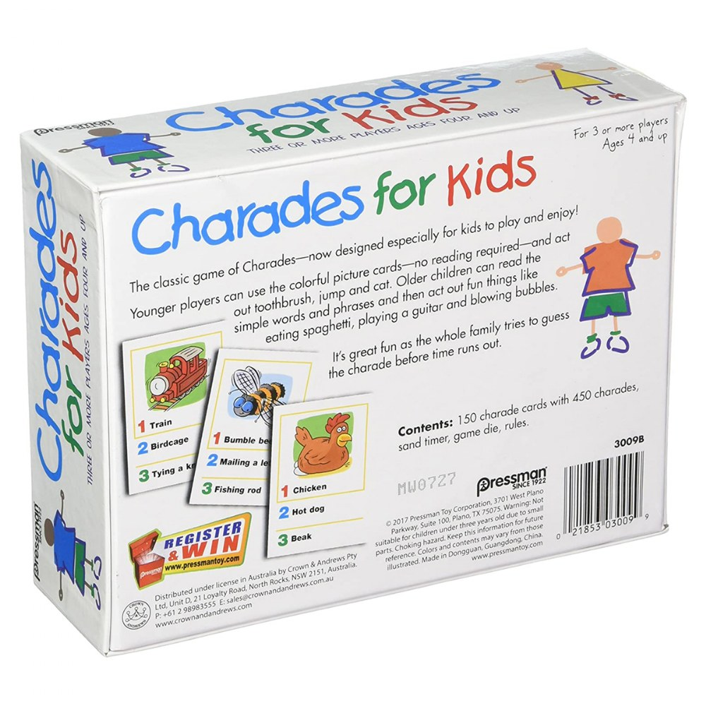 Alternate Image #4 of Charades for Kids Game