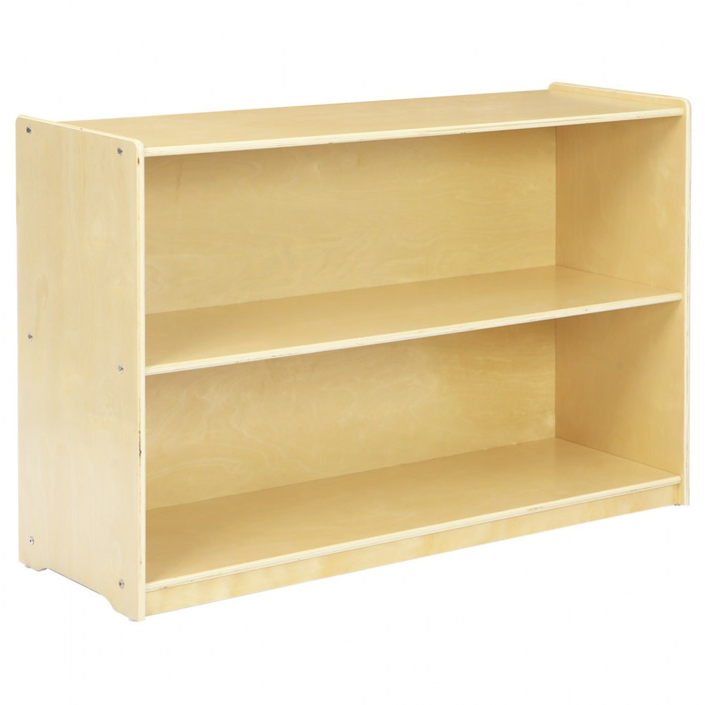 Carolina 2-Shelf Storage - Solid Back