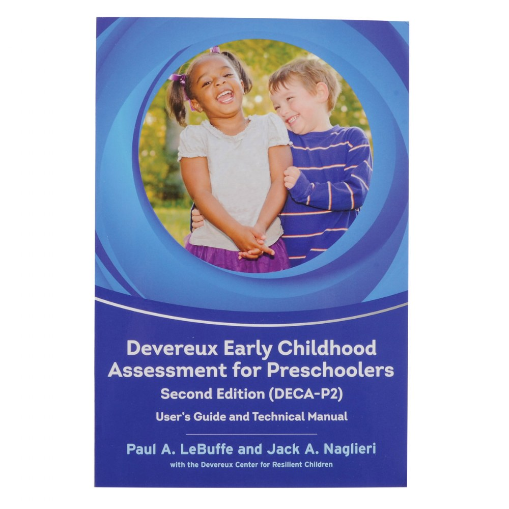 Alternate Image #2 of Devereux Early Childhood Assessment for Preschool, 2nd Edition (DECA-P2) Kit