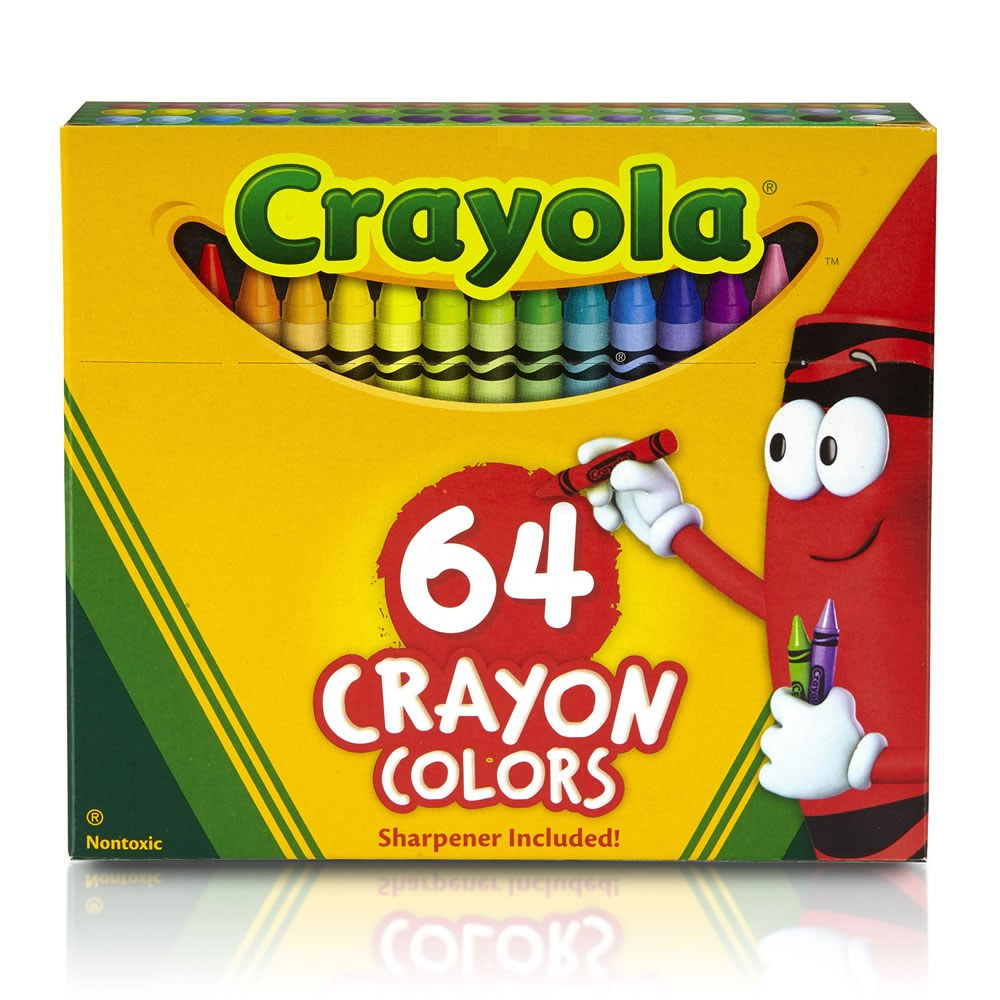 Alternate Image #1 of Crayola® 64-Count Crayon Box