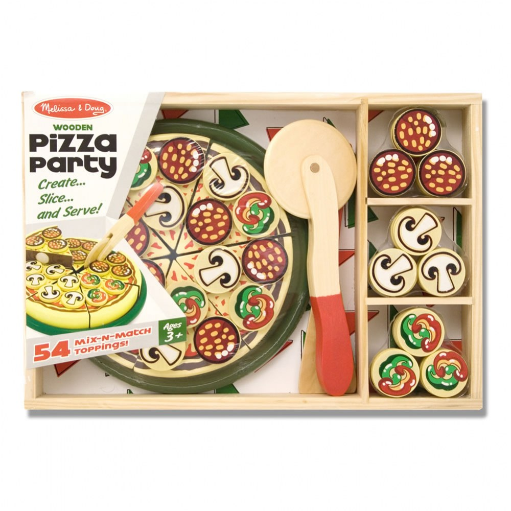 Alternate Image #4 of Wooden Pizza Party Set