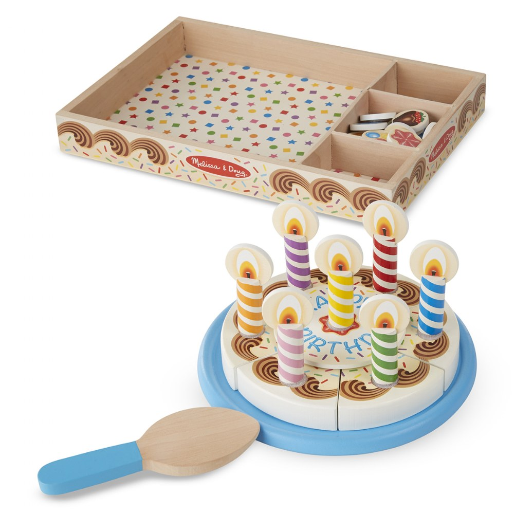 Alternate Image #4 of Wooden Birthday Party Cake Set