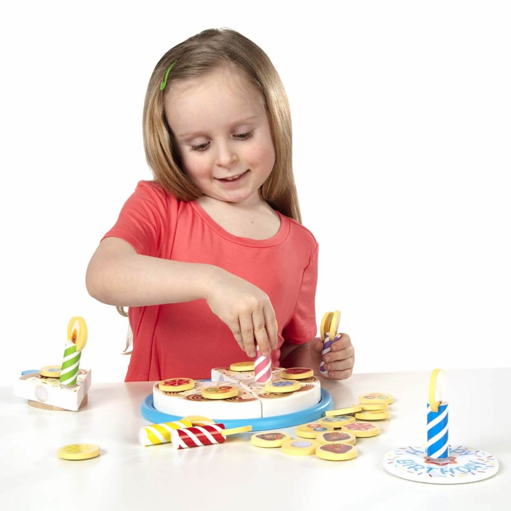 Alternate Image #2 of Wooden Birthday Party Cake Set