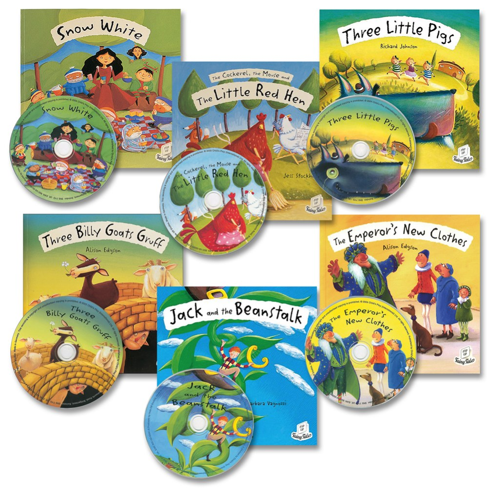 Fairy Tale CD and Books - Set of 6