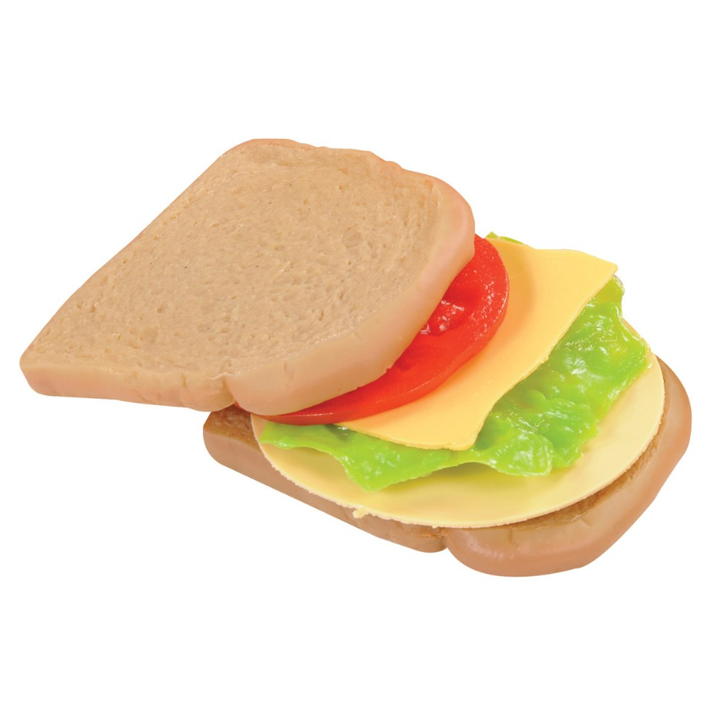 Alternate Image #2 of Dramatic Play Sandwich Making Set with White and Wheat Bread