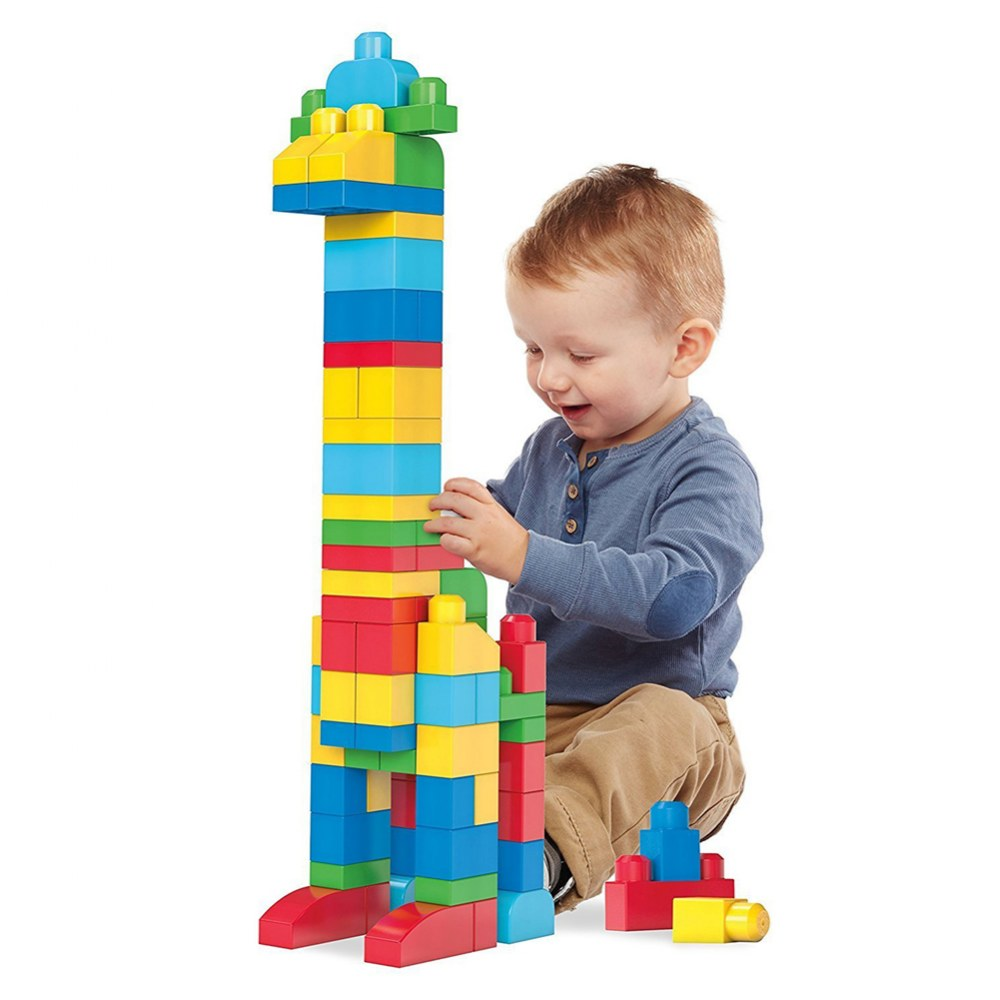 Alternate Image #1 of Mega Bloks® Big Building Bag Classic Colors - 80 piece