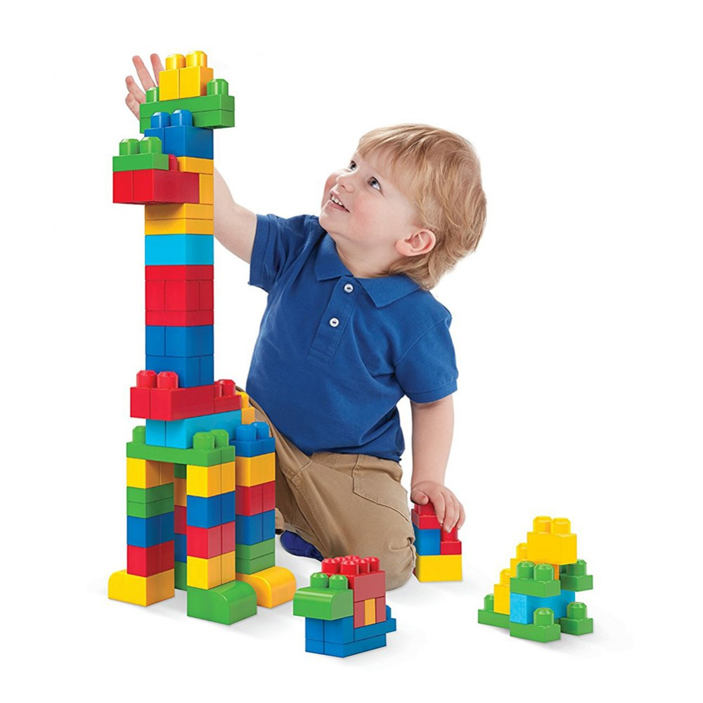 Alternate Image #2 of Mega Bloks® Big Building Bag Classic Colors - 80 piece