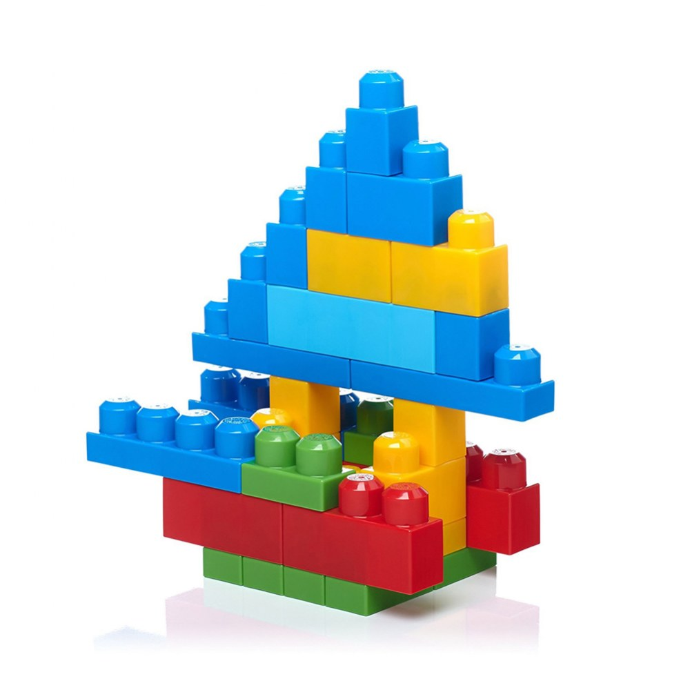 Alternate Image #6 of Mega Bloks® Big Building Bag Classic Colors - 80 piece