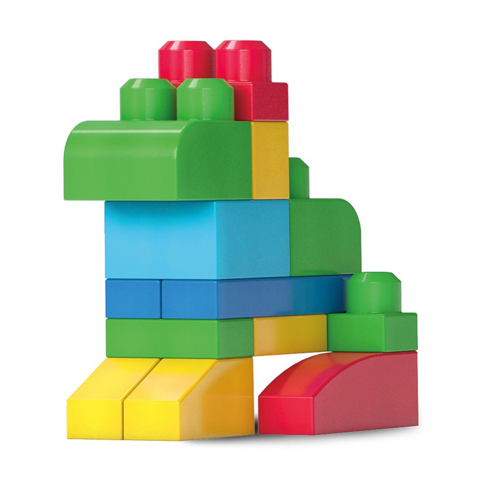 Alternate Image #7 of Mega Bloks® Big Building Bag Classic Colors - 80 piece