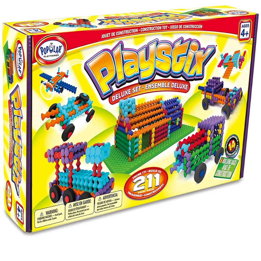 Alternate Image #2 of Playstix Deluxe Building Set - 211 Pieces
