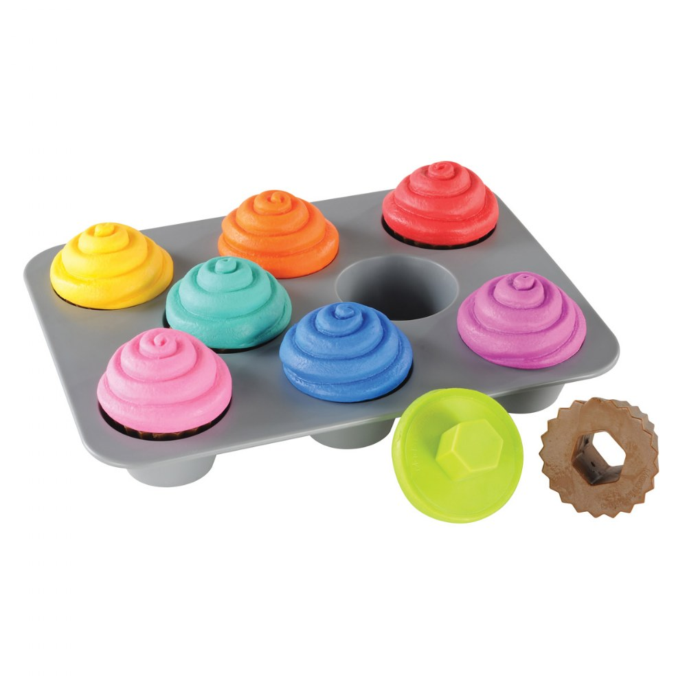 Alternate Image #1 of Sorting Shapes Cupcakes