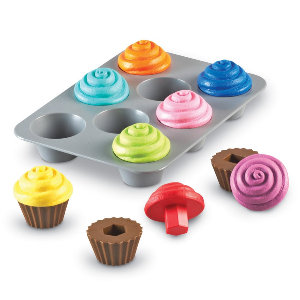 Alternate Image #2 of Sorting Shapes Cupcakes