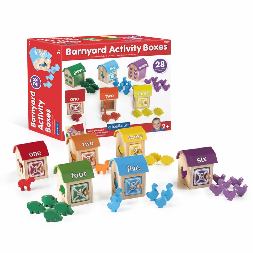 Alternate Image #3 of Barnyard Activity Boxes