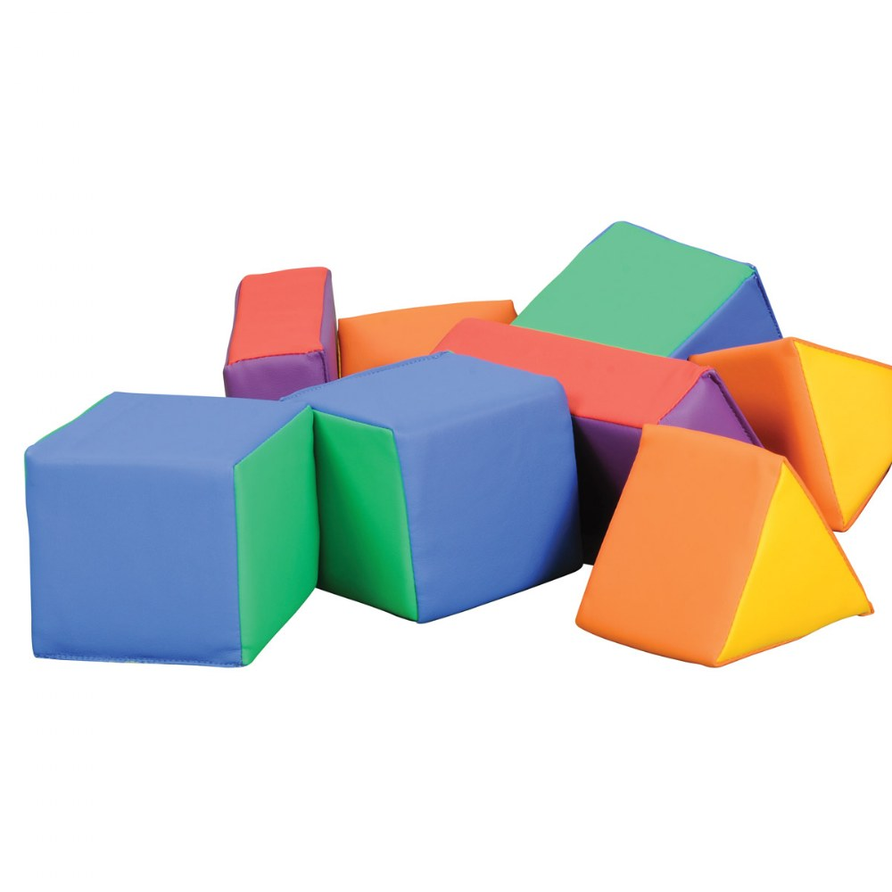Primary Soft Shapes - Set of 12