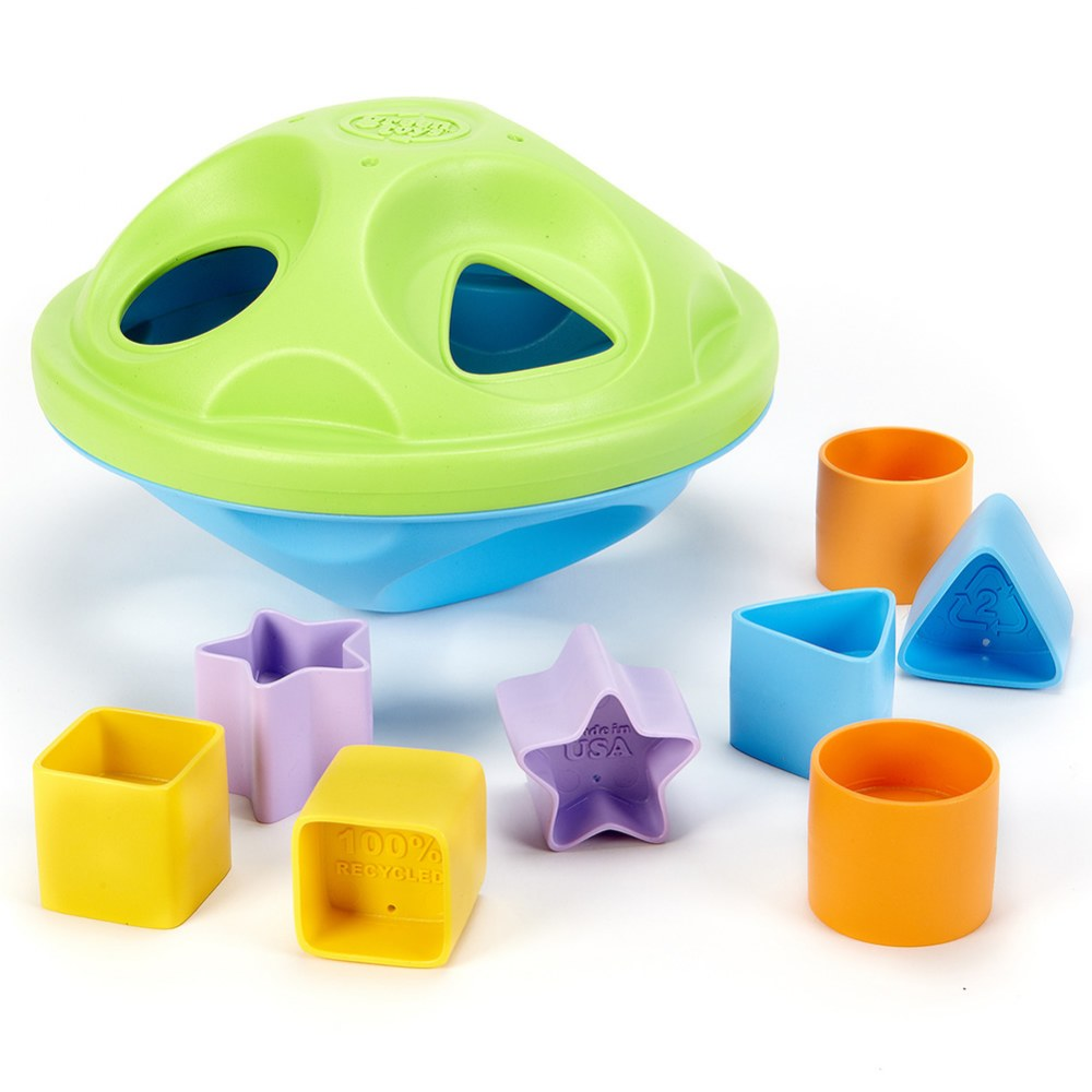 Alternate Image #1 of Eco-Friendly Shape Sorter for Infants and Toddlers