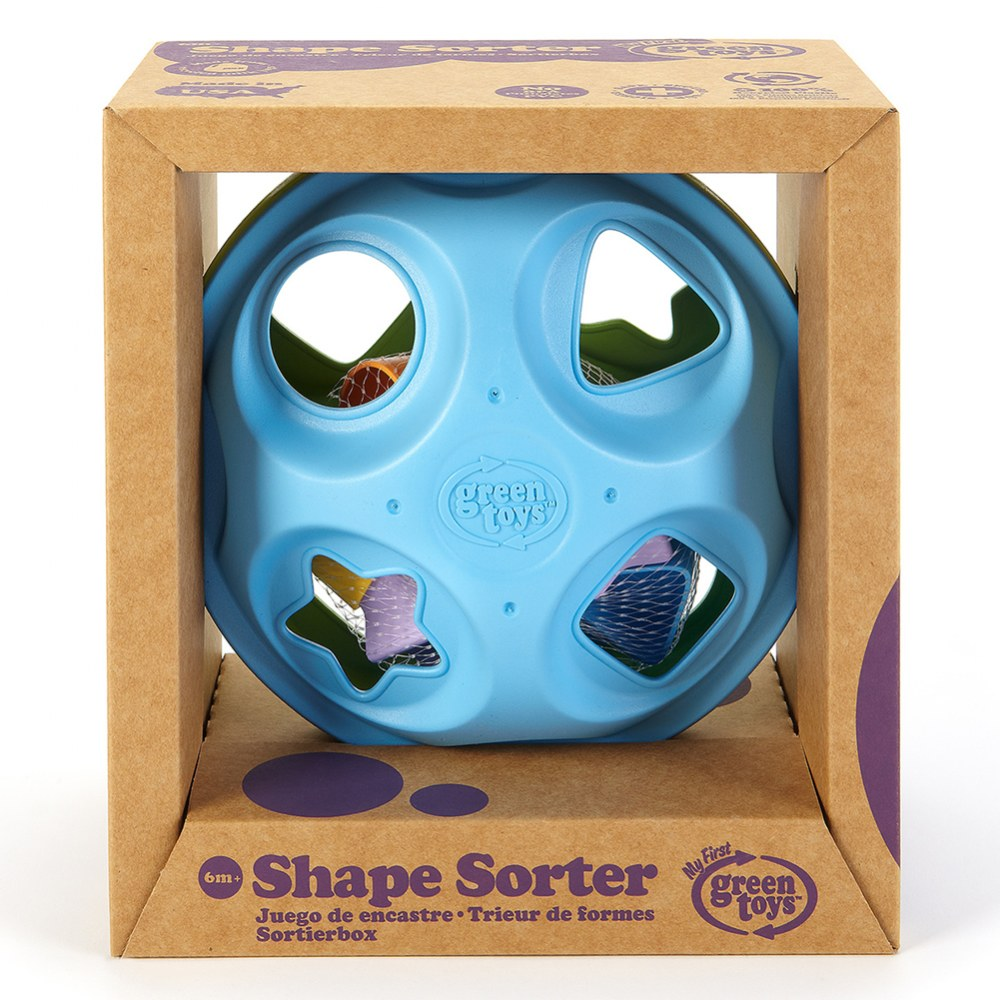 Alternate Image #2 of Eco-Friendly Shape Sorter for Infants and Toddlers