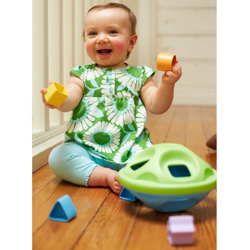 Alternate Image #3 of Eco-Friendly Shape Sorter for Infants and Toddlers