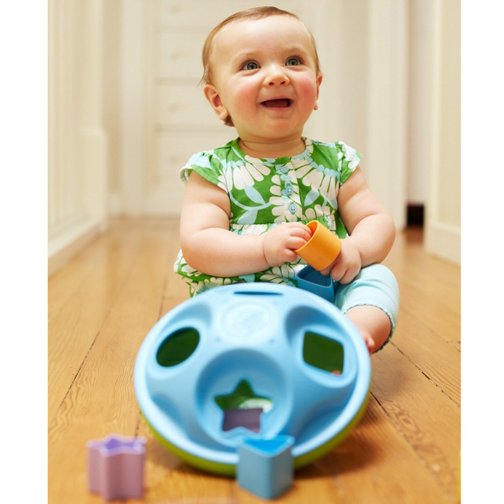 Alternate Image #5 of Eco-Friendly Shape Sorter for Infants and Toddlers