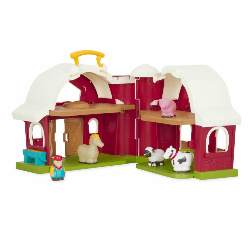 Alternate Image #1 of Toddler's First Big Red Barn and Farm Animals