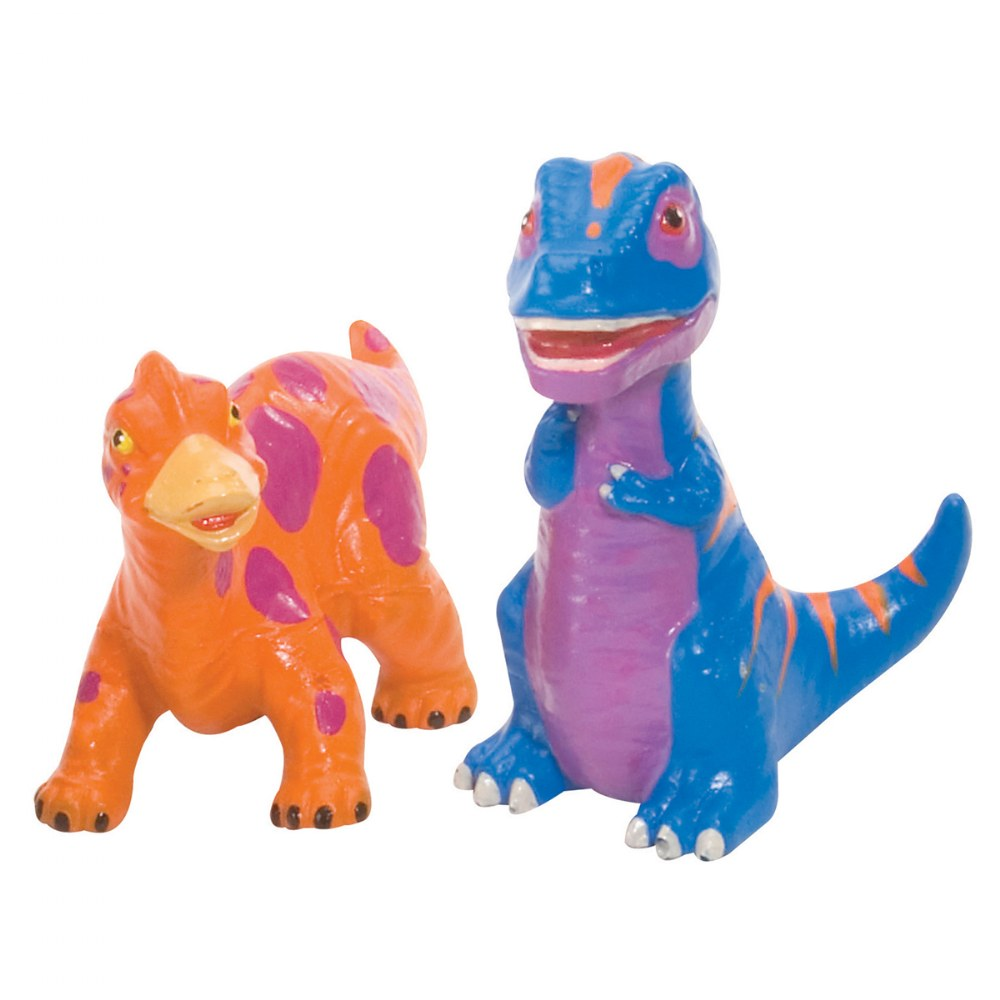 Alternate Image #2 of Soft and Squeezable Dinosaur Playset