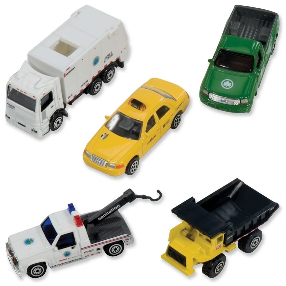 Official New York City Die-Cast Vehicles - Set of 5