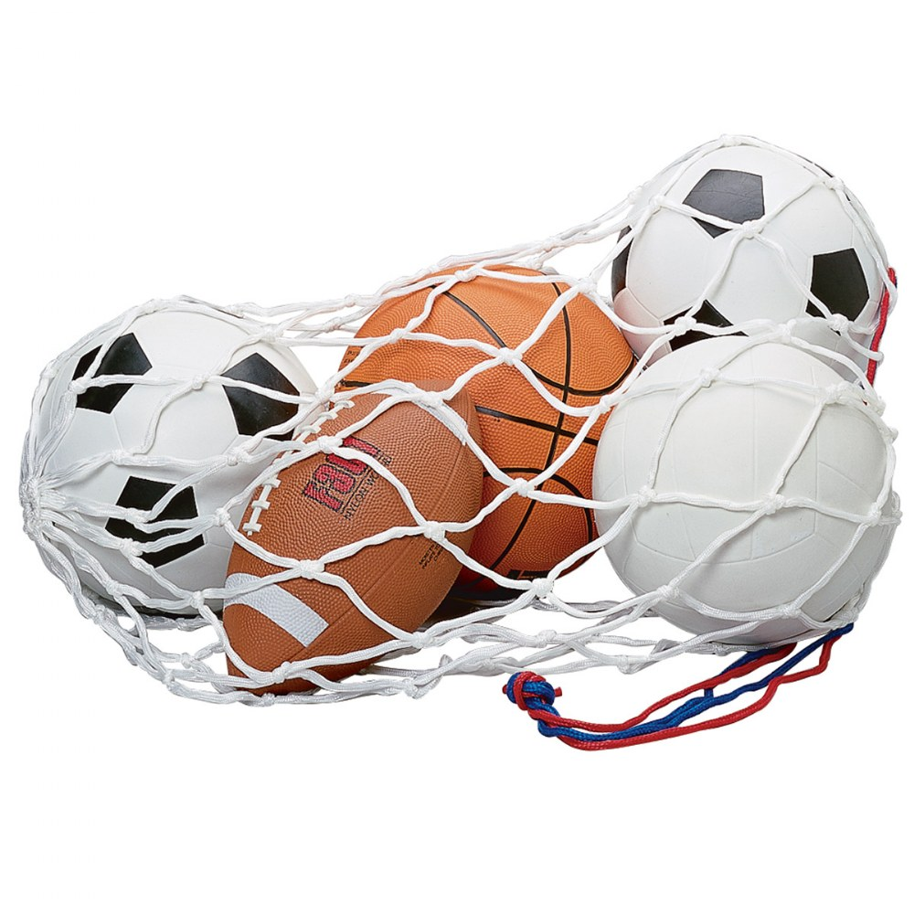 Sports Ball & Bag Set - Set of 5