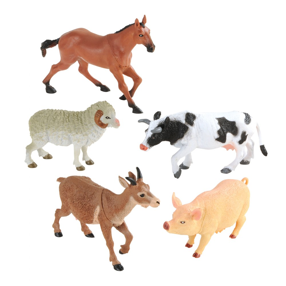 Farm Animals Collection - Set of 5