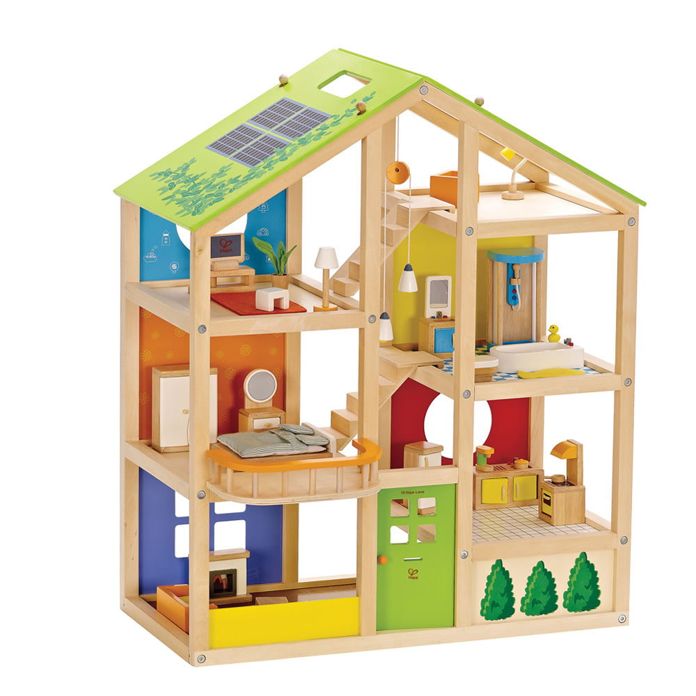 Seasons All-In-One Dollhouse - Furnished