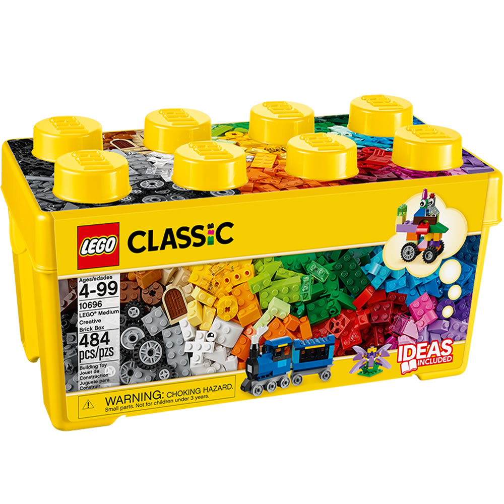 Alternate Image #1 of LEGO® Classic Medium Brick Box (10696)