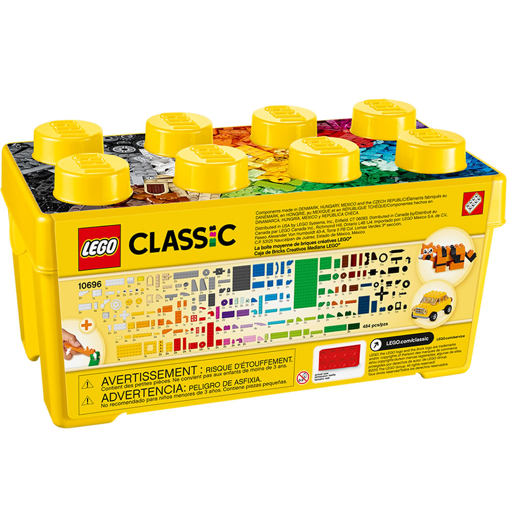 Alternate Image #2 of LEGO® Classic Medium Brick Box (10696)