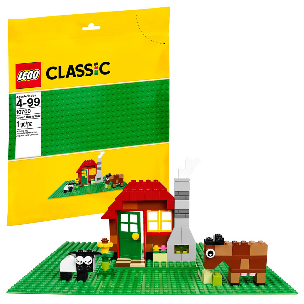 LEGO Classic 10700 Green Baseplate 32x32 Park Selead Forrest New