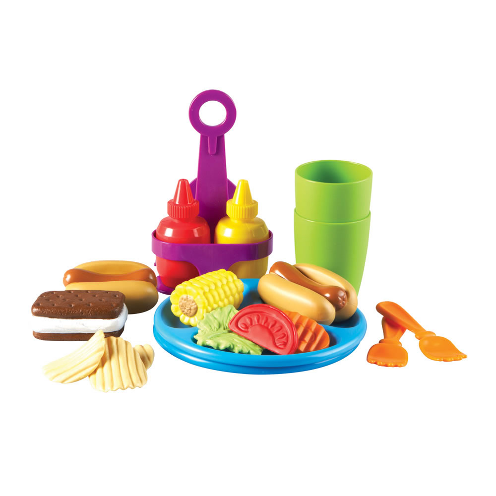 Alternate Image #1 of New Sprouts® Pretend Play Hamburger and Hotdog Cookout!