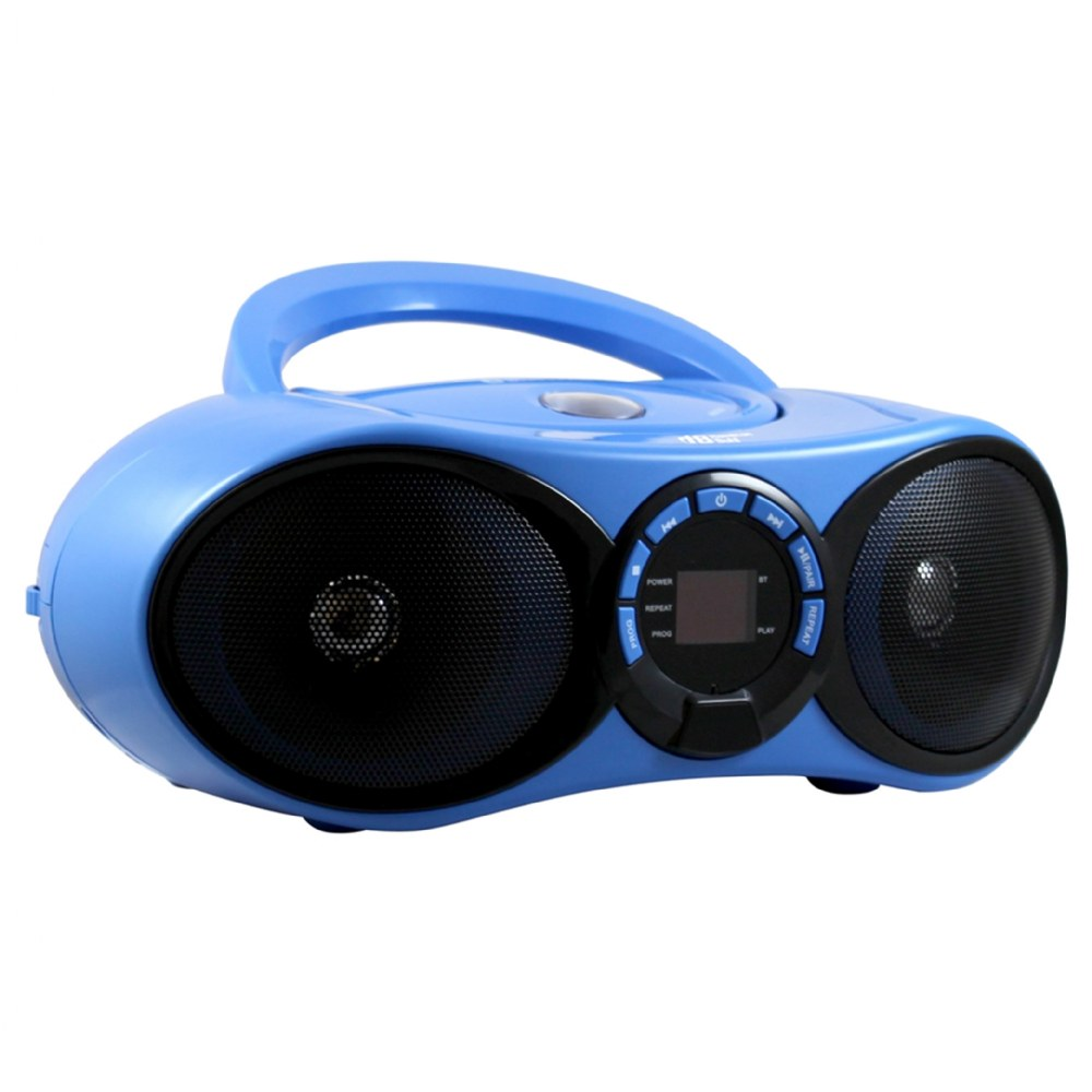 Alternate Image #1 of Boombox CD/FM Media Player with Bluetooth® Receiver