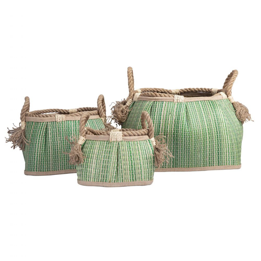 Alternate Image #4 of Sense of Place Woven Baskets - Set of 3