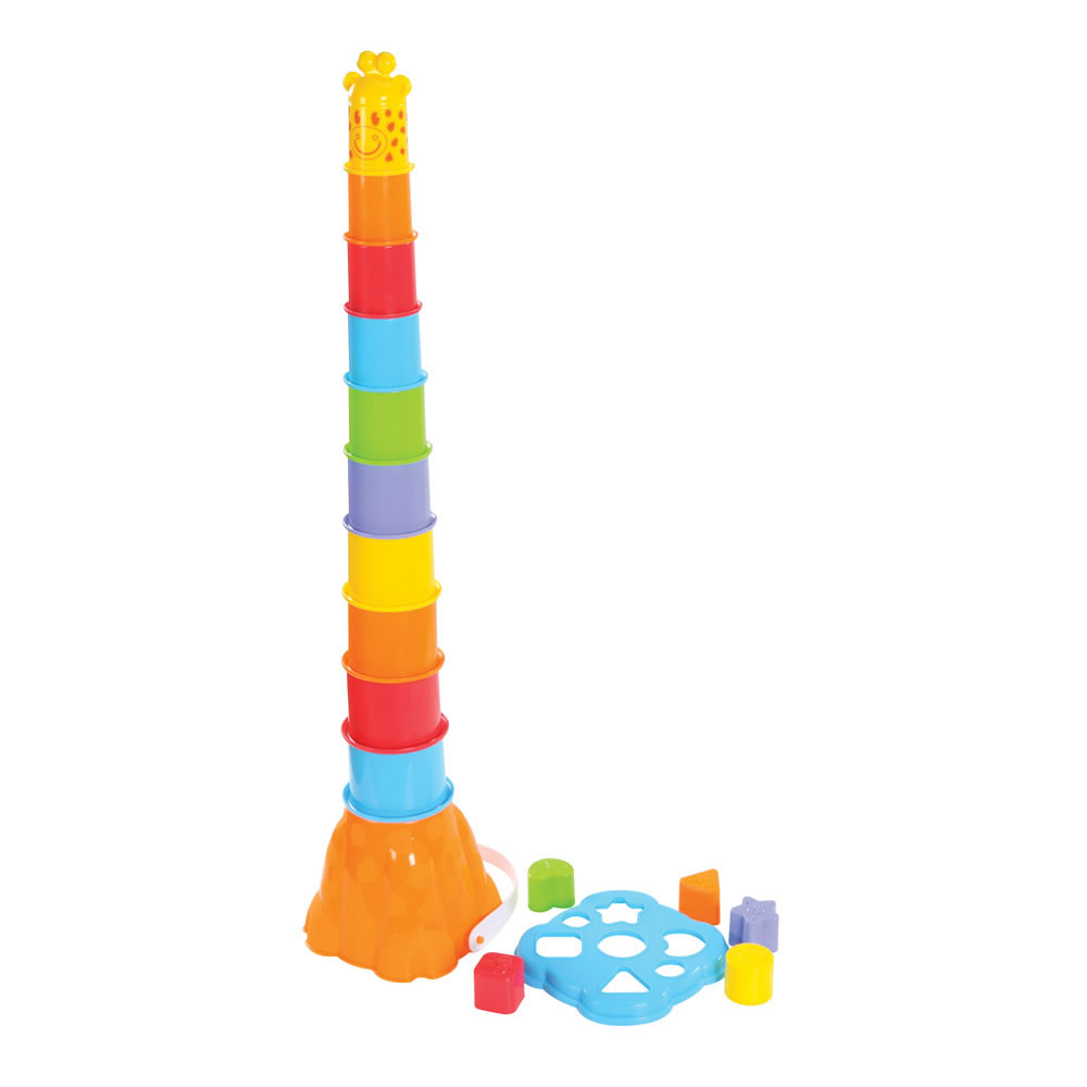 Giraffe Nest and Stack - 17 Pieces