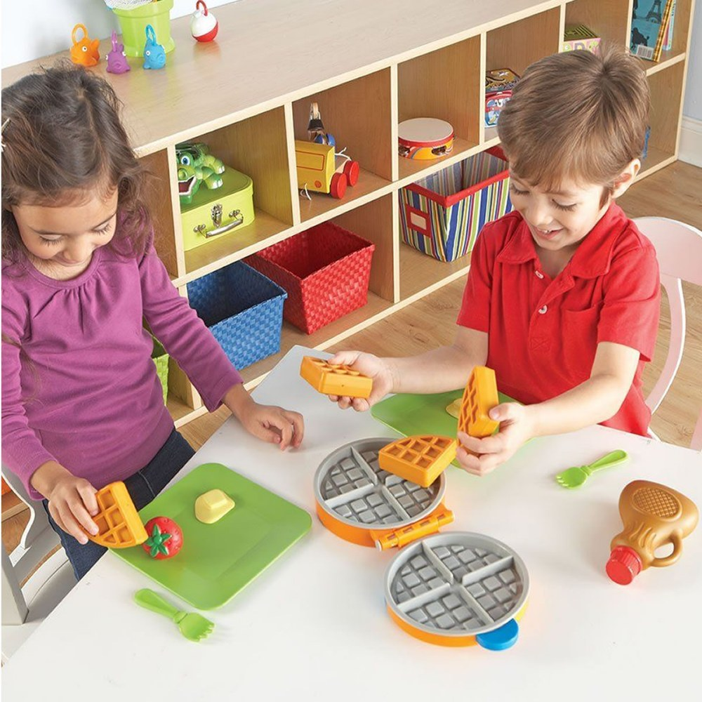 Alternate Image #2 of New Sprouts® Waffle Time! Pretend Play Gourmet Breakfast