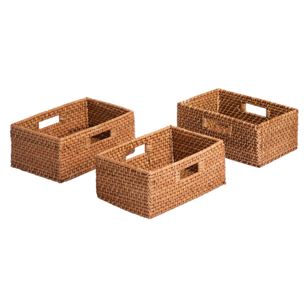 Sense of Place Rectangular Storage Baskets - Set of 3