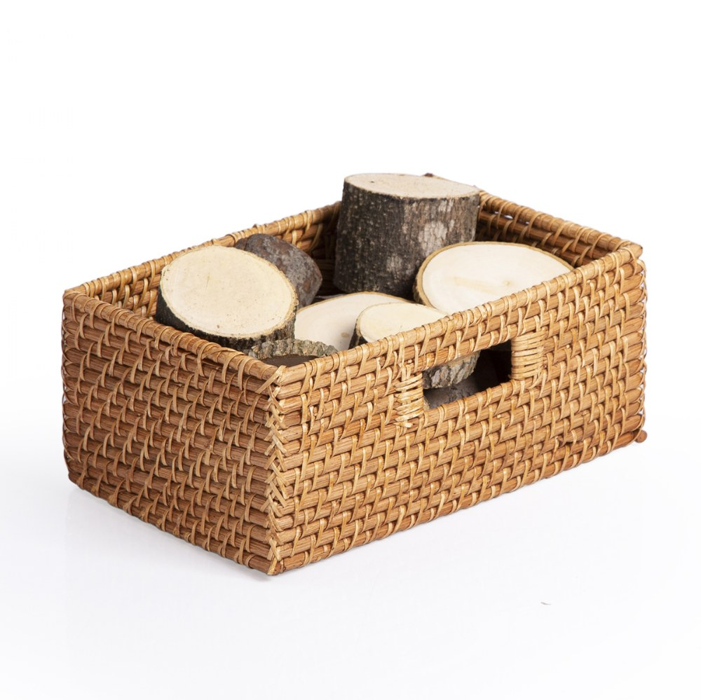 Alternate Image #4 of Sense of Place Rectangular Storage Baskets - Set of 3