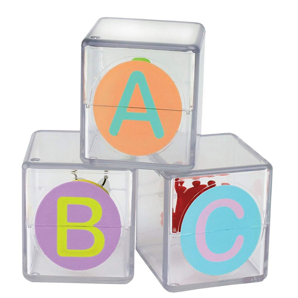 Alternate Image #1 of Toddler Flip Flop ABC Blocks - 26 Blocks With Movement and Sound