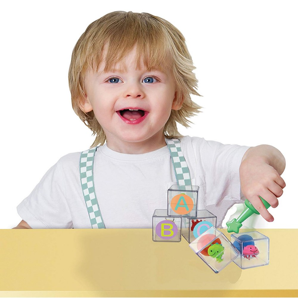 Alternate Image #2 of Toddler Flip Flop ABC Blocks - 26 Blocks With Movement and Sound