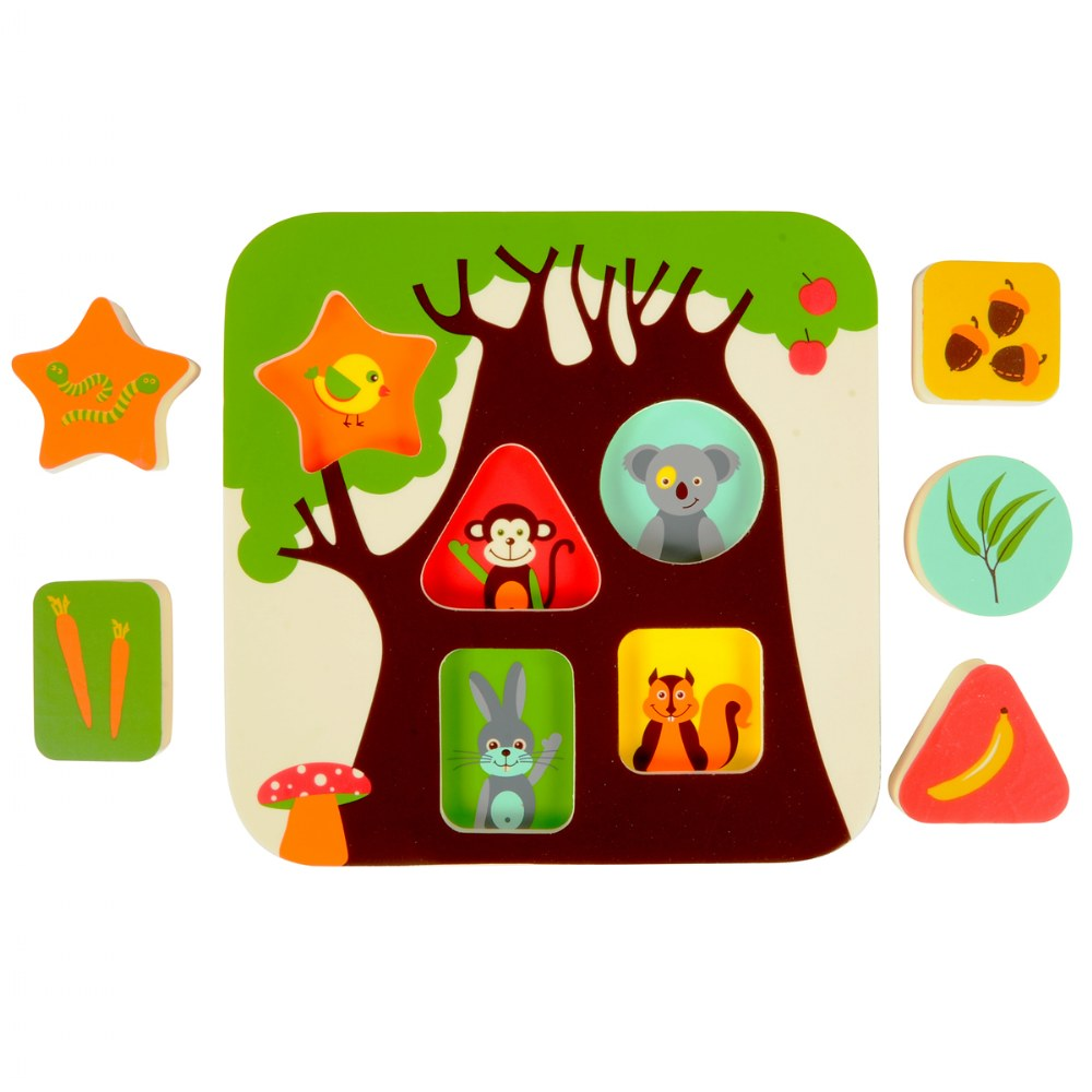 Infant and Toddler Treehouse Puzzle