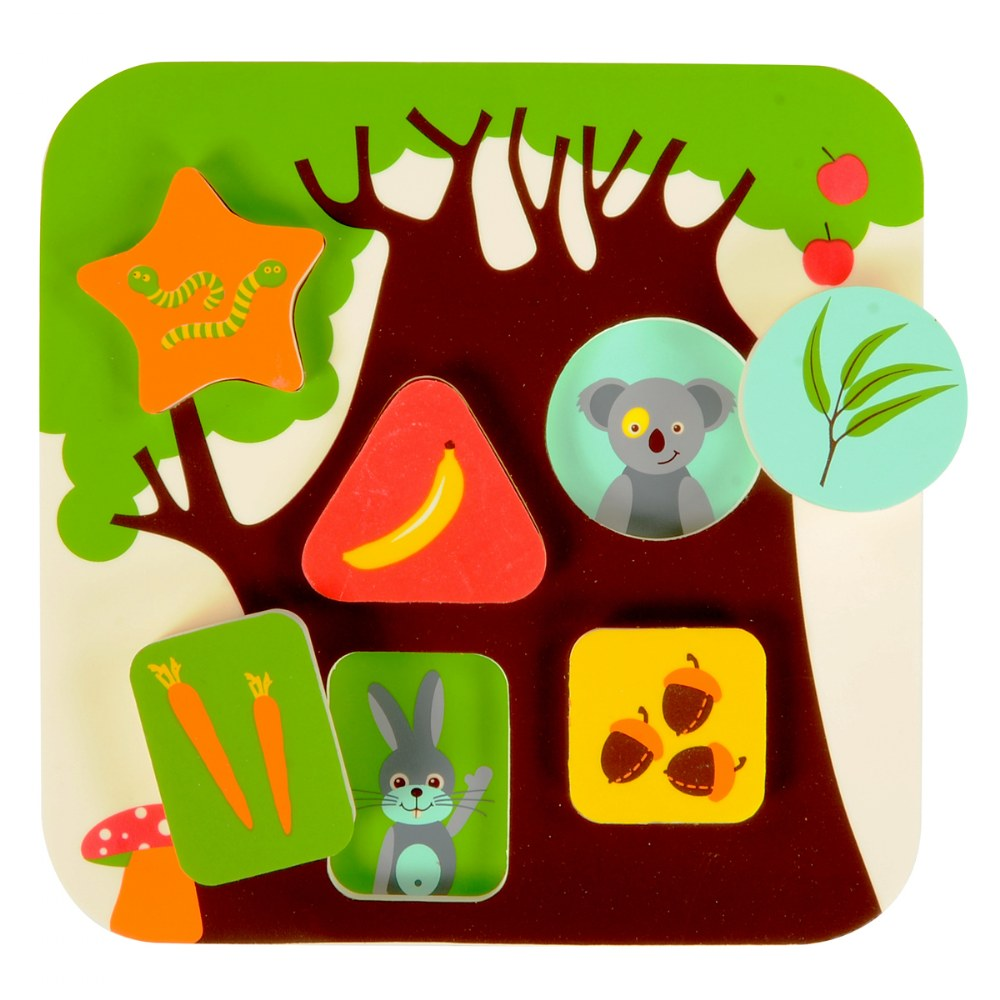 Alternate Image #1 of Infant and Toddler Treehouse Puzzle