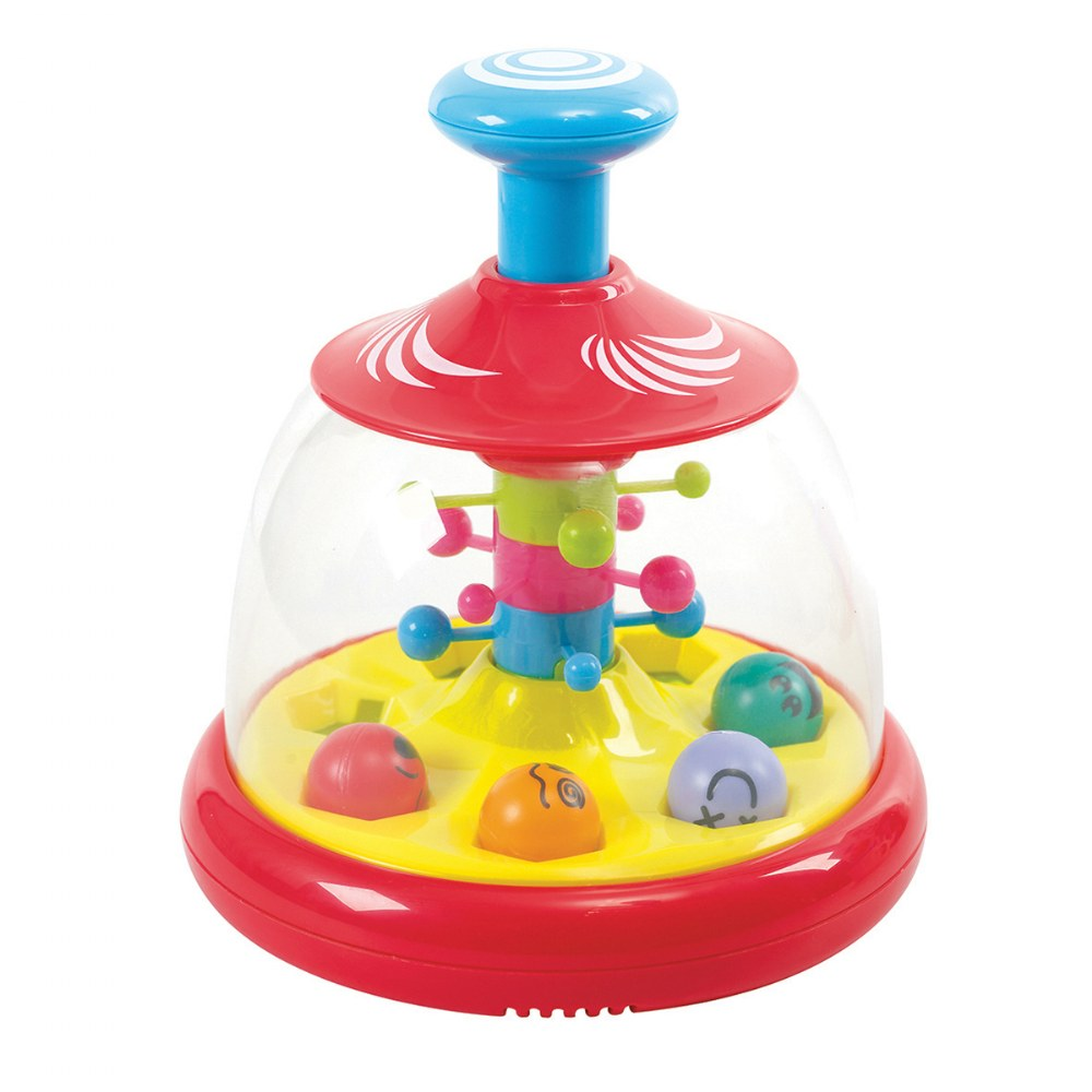 Alternate Image #2 of Popping and Tumbling Spinning Ball Domes - Set of 2