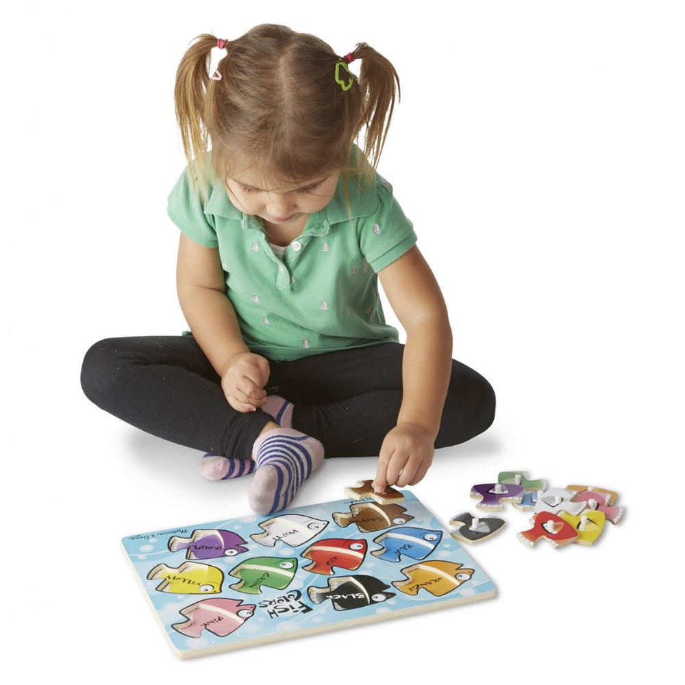 Alternate Image #2 of Animal and Sea Life Peg Puzzles Classroom Set - Set of 5