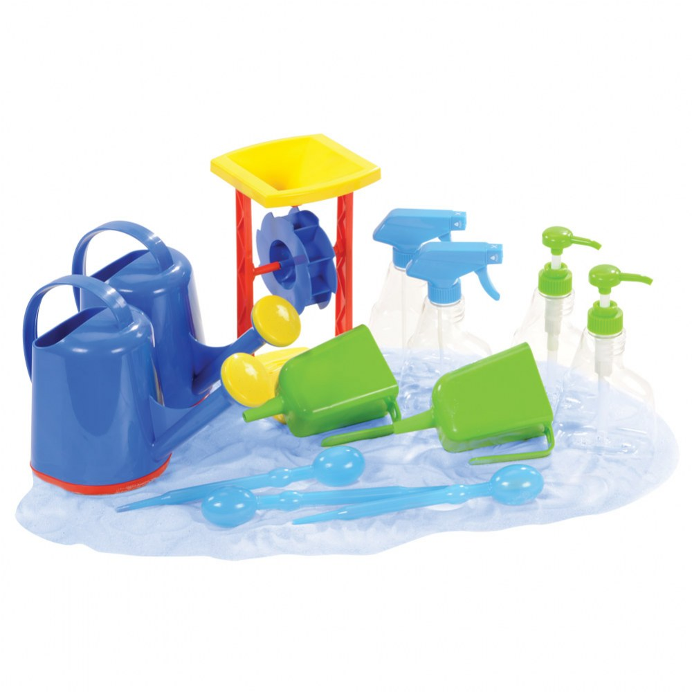 Spray, Sprinkle, Pump, and Squeeze Water Set (12 Pieces)