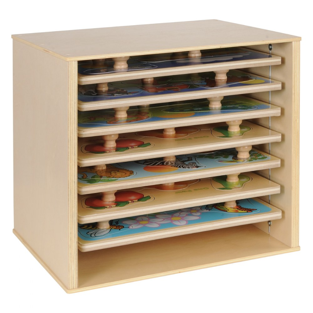 Alternate Image #1 of Kaplan Puzzle Case for Large Knob Puzzles