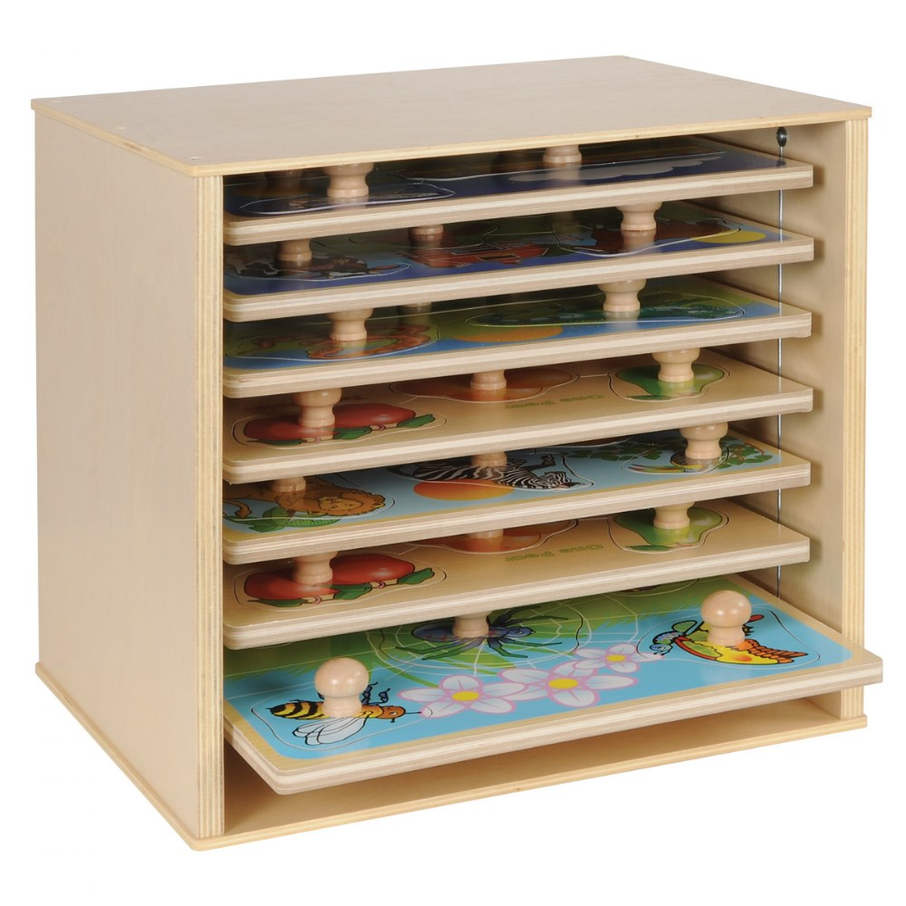 Alternate Image #2 of Kaplan Puzzle Case for Large Knob Puzzles