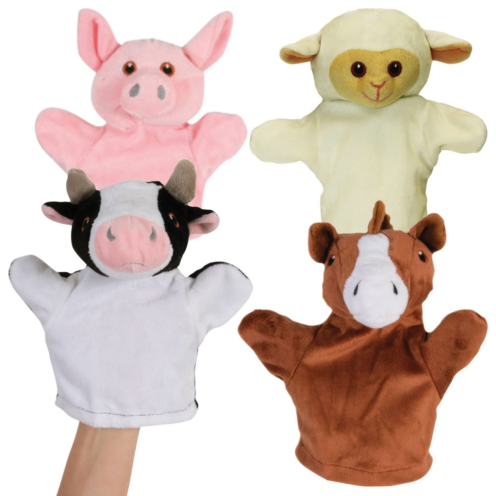 My First Farm Animal Puppets - Set of 4