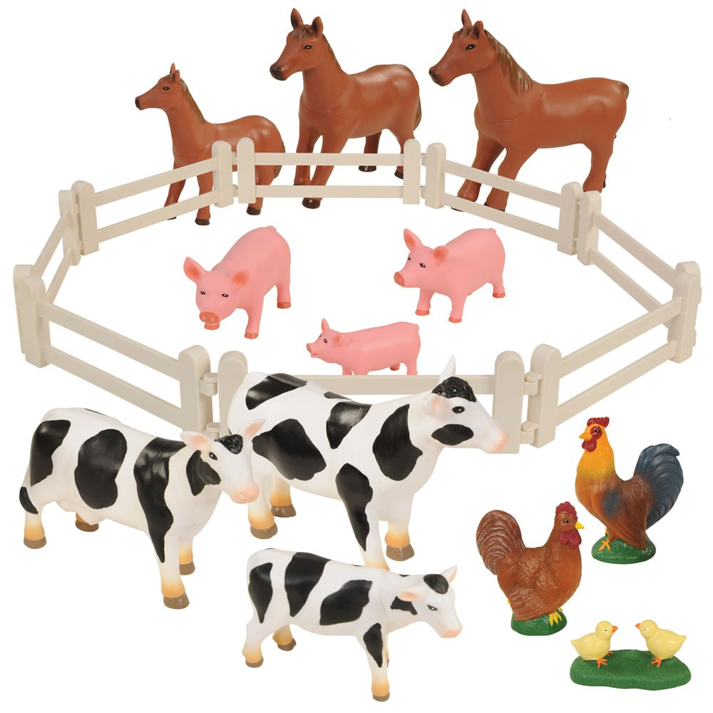 Farm Animal Families - Set of 20