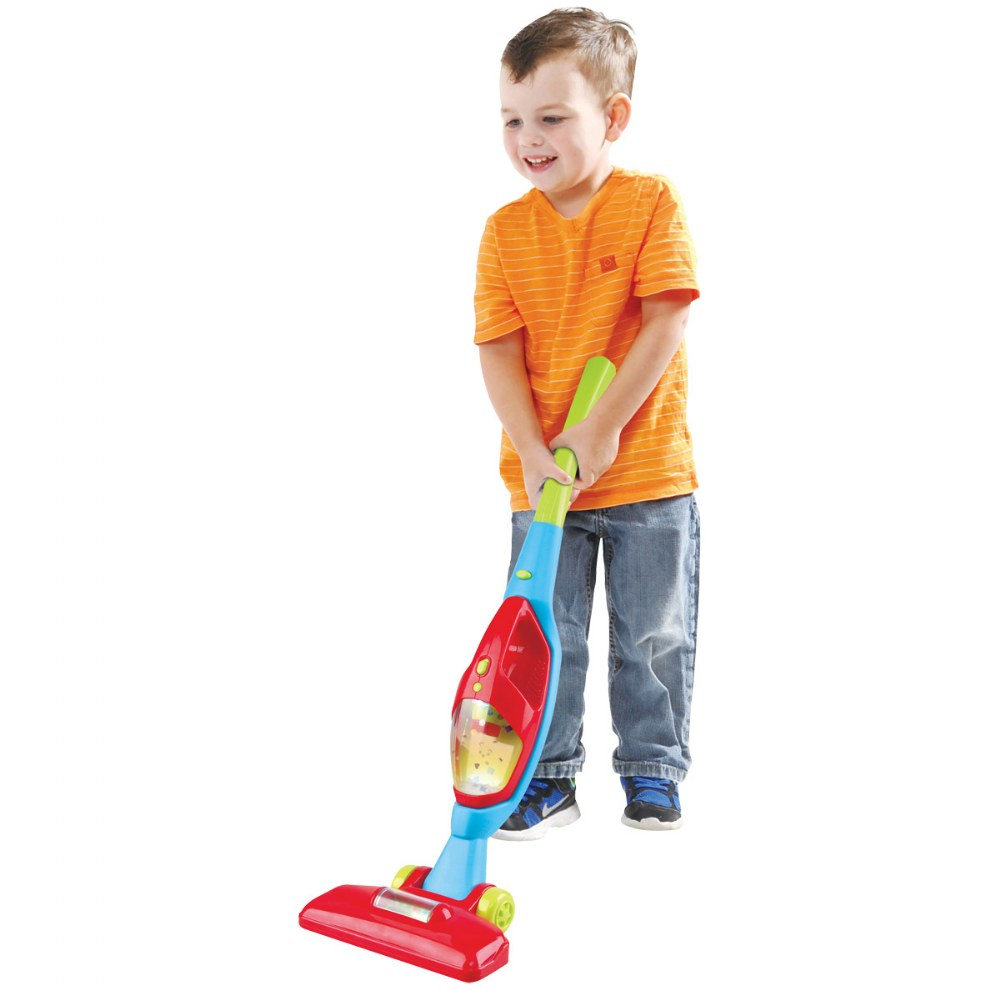 Alternate Image #1 of 2-in-1 Dramatic Play Vacuum Cleaner with Sound